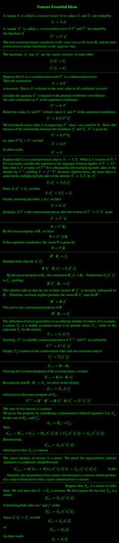Tensors Essential Ideas Advanced Mathematics, Physics And Mathematics, General Physics, Brain Anatomy, Math Formulas, Carl Sagan, Math For Kids, Artificial Intelligence, Science And Nature