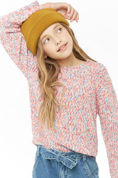 Product Name:Girls Multicolor Sweater (Kids), Category:Sale, Teen Winter Outfits, Girls Winter Fashion, Tween Fashion, Little Girl Fashion, Jojo Fashion, Best Outfit For Girl, Cute Girl Outfits, Kids Outfits Girls, Girls Sports Clothes