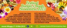 Institut Pertanian Bogor (IPB) bekerjasama dengan Kementerian Pertanian RI dan Kementerian BUMN RI akan menyelenggarakan acara Festival Bunga dan Buah Nusantara (FBBN) pada tanggal 17-19 Mei 2013. Secara ringkas kegiatan Festival Bunga dan Buah Nusantara (FBBN) 2013 sebagai berikut: