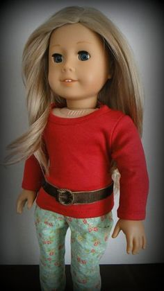 how to make a new sew belt for dolls. Functional!