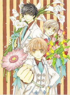 Shaoran, Yukito y Touya (๑>◡<๑)❤️
