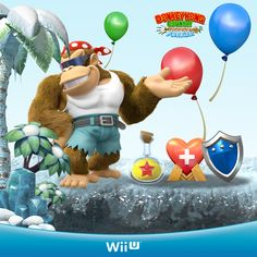 Donkey Kong Country Tropical Freeze - Funky's Shop