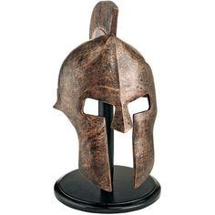 Design Toscano Greek Spartan Helmet Sculpture & Reviews | Wayfair