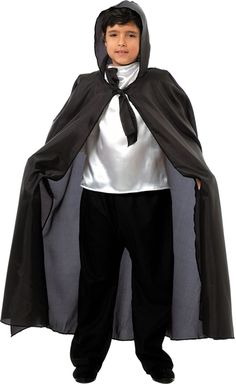 Capa negra para #Halloween