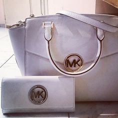 Michael Kors Handbags #Michael #Kors #Handbags White