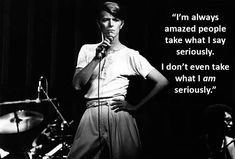 23 David Bowie Quotes To Remember The Rock Icon David Bowie Quotes, Serious Quotes, Thought Provoking, Confidence, Lyrics, Rock, Sayings, Children, Artwork