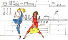 My Little Paris: Three million Francophiles are getting insider tips about Paris from one special newsletter — Quartz Illustrations, Illustration Art, My Little Paris, Artist Branding, Pretty Drawings, Natural Stress Relief, Paris Art, Mood Pics, Little Boxes