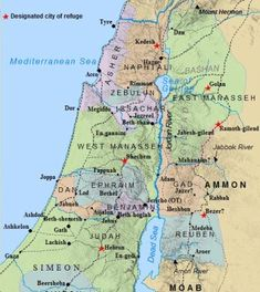 A map of the tribal allotments of the 12 tribes of Israel. Zebulun possessed land in Galilee, located in the north of Canaan. They belonged to the Northern Kingdom of Israel when the tribes split apart after Solomon's death.