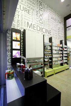 Modern Pharmacy Interior Design