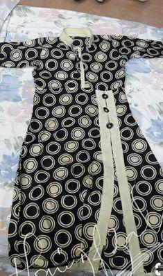 Com – SkillOfKing. Simple Kurti Designs, Kurti Neck Designs, Kurta Designs Women, Kurti Designs Party Wear, Girls Dresses Sewing, Stylish Dresses For Girls, Dresses Kids Girl, Simple Dresses, Girls Frock Design