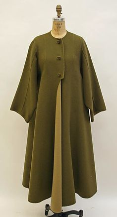 Madame Grès late 60s-early 70s wool love the cut on this