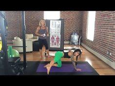Betty rocker doing a 30min yoga sculpt workout