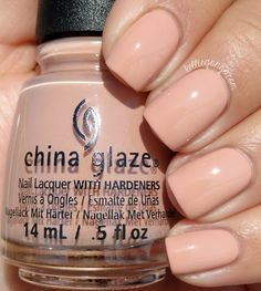 China Glaze Sorry I'm Latte from the Spring 2016 collection House of Color