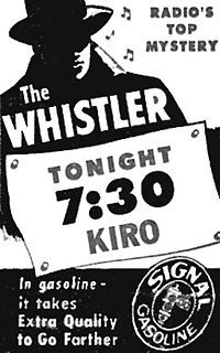 The Whistler - A classic and one of the highest mystery shows of its time from 1942 - 1955. It began with the sound of footsteps and a person whistling. The stories followed a formula in which a person's criminal acts were typically undone either by an overlooked but important detail or by their own stupidity. On rare occasions a curious twist of fate caused the story to end happily for the episode's protagonist. Ironic twist endings were a key feature of each episode. 449 Episodes.