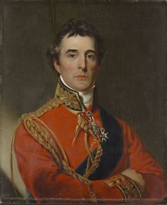 Copy after John Trumbull (American, 1756-1843), Arthur Wellesley, Duke of Wellington, c.1815. Oil on wood, 28 5/16 x 23 ¼ in. Bequest of Daniel Wadsworth. 1848.23. Wadsworth Atheneum Museum of Art