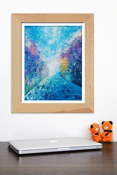 New York City painting New York painting Abstract by artbyasta