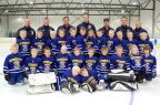 Our hockeyteam. I love these kids! :-)