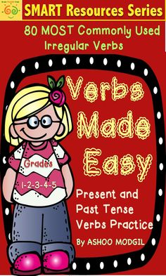 Verbs packet includes 36 pages of engaging practice worksheets and activities that are great for review, assessment, practice, supplementary work, homework or for literacy centre. Verbs include interactive and multi use worksheets for scaffolded irregular verbs practice. A fun way to practice verbs in your classroom in variety of ways. You could use this resource as worksheets, Mini Book or as Task Cards.