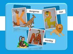 "Speak English!: English for little ones: ""Живой"" английский алфавит (from K to S)"