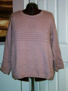 Ravelry: Garter Ridge Tunic pattern by Melissa Leapman