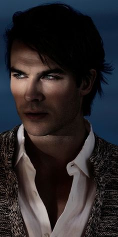 Ian Somerhalder What can I say, I seem to be hooked on Vampire Diaries...