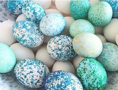colourful easter egg craft
