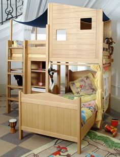 The 27 Best Cool Bunk Beds With A Slide Images On Pinterest Bunk