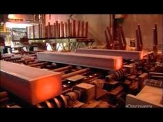 How it's made - How Train Rails are made
