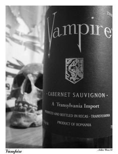 """Vampire Cabernet Sauvignon.  I served this for my """"Vampire's Ball"""" Halloween party.  It was good wine and my guests LOVED the name!  FUN!!"""