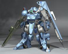 Image result for Armored Trooper Votoms BUTISH DOG