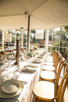 Wedding Wisteria Room // Long table setup // Floral design // Family style grazing Wisteria, Outdoor Spaces, Homesteading, Backdrops, Floral Design, Sweet Home, Table Settings, Wall Decor, Indoor