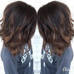Dark Brown Hair With Subtle Chocolate Highlights