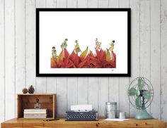 Discover «VAMOS A LA CAMA», Numbered Edition Fine Art Print by Gloria  Sánchez - From 20€ - Curioos