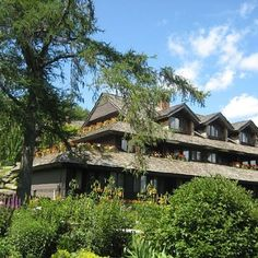 Von Trap lodge in Stowe,VT, where I was born and raised