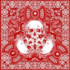 Résultats Google Recherche d'images correspondant à http://images.fineartamerica.com/images-medium/lucky-skull-bandanna-design-chad-lonius.jpg
