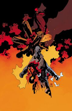 HOLY CRAP! @artofmmignola's incredible #BPRD #135 variant.