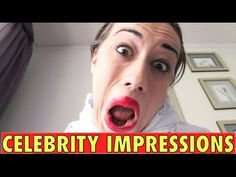 CELEBRITY IMPRESSIONS! - YouTube Miranda Sings, Comedy, Singing, Parties, Celebrity, Dance, Youtube, People, Fiestas