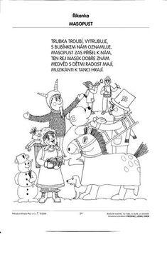 Pracovní listy - Rosničanda - MŠ Pardubice-Rosice/L Aa School, School Clubs, Sunday School, Bikini Workout, Bikini Fitness, Winter Crafts For Kids, Kids Songs, Coloring Pages For Kids, Winter Time