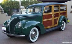 The 1938 model year was particularly significant for Ford station wagons.