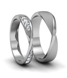 - Jewelry World Small Wedding Rings, Disney Wedding Rings, Wedding Band Sets, Budget Wedding, Wedding Budgeting, Wedding Ideas, Wedding Themes, Stainless Steel Wedding Bands, Barn Wedding Decorations