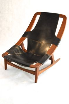 Holmenkollen Chair by Arne Tidemand Ruud for Norcraft, Norway, 1960s. $3,950