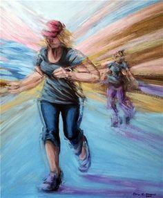"Saatchi Online Artist Ebru E Duvenci; Painting, ""untitled, 2010, oil on canvas"" #art"
