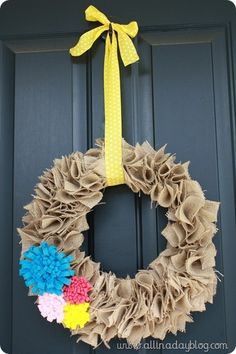 i finally threw the Christams wreath away this week.  I'm going to make this.   Word