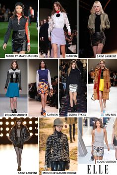 Ever since Nicolas Ghesquière's first collection for Louis Vuitton, we have been getting more than comfortable with a raised hemline. Guess what? We like our legs! And not to mention the silhouette is youthful and flattering on just about everyone. No wonder designers far and wide are embracing the power of the mini skirt.   - ELLE.com