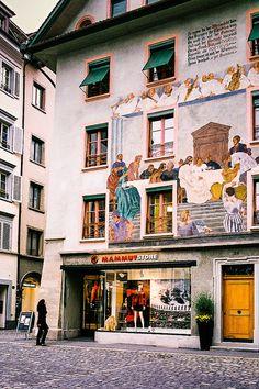 Lucerne, Switzerland Love this shop!