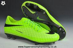 new arrival 16ea0 74ed9 New (Fluorescent Green Black) Phantom FG Nike Hypervenom 2014 Soccer Cleats  Soccer Gear