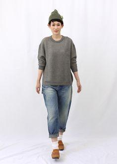 "mina perhonen ""strudel"" knitted sweater"