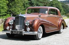 1950 Bentley MK VI 2-Door Coupe by Park Ward