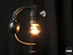Lampe Tractor creation unique Chignole 9