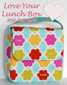 Love Your Lunch Box | Featured Products | YouCanMakeThis.com